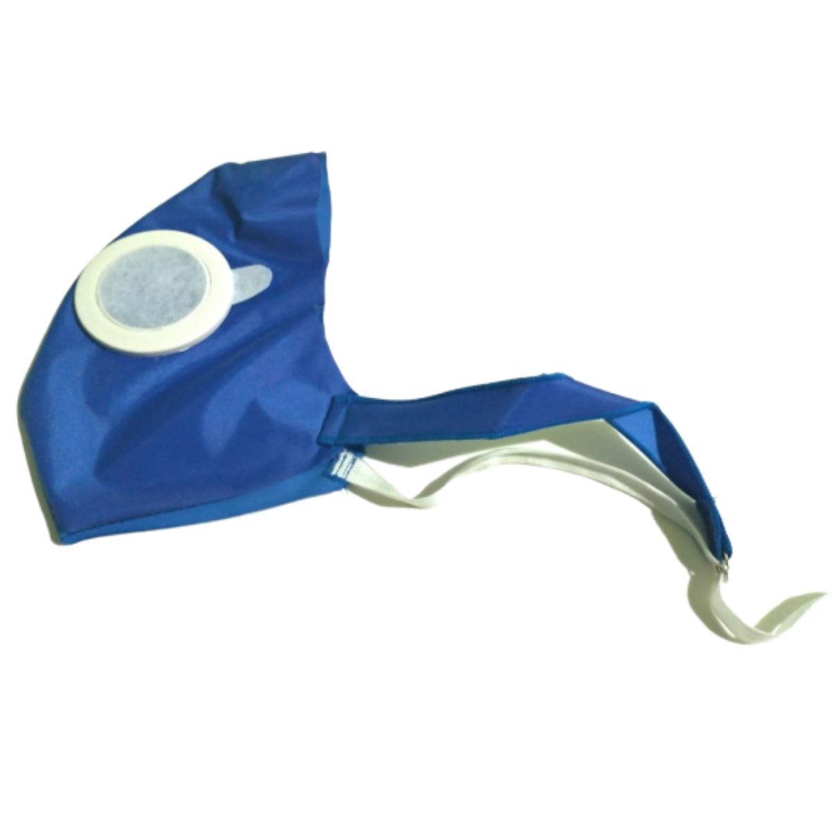 Máscara Ajustável De Rosto Tecido Reutilizável Em Nylon Impermeável - MÁSCARA