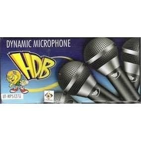 Microfone HBD Karaokê Prata Modelo - UT-MP5127