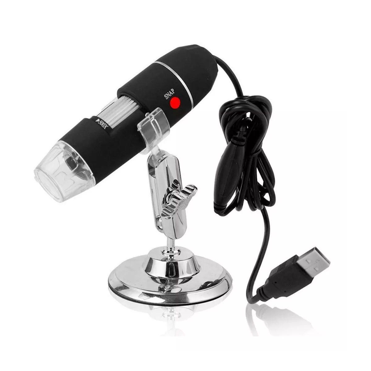 Microscópio Digital Cabo USB 1000X Zoom Profissional HD 2.0mp - 1000X