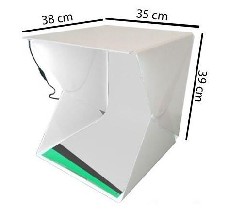 Mini Estúdio 54 Leds 6000k O Mais Potente da Categoria Instafold Super - Insta Super
