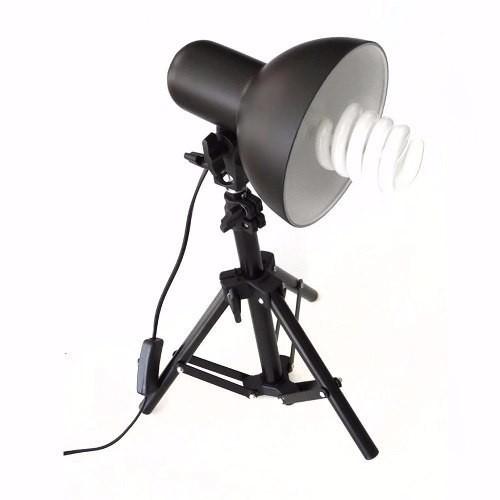 Mini Estúdio Fotográfico Tenda 40cm Com Kit de Iluminação 40x40 - PKST07 220V