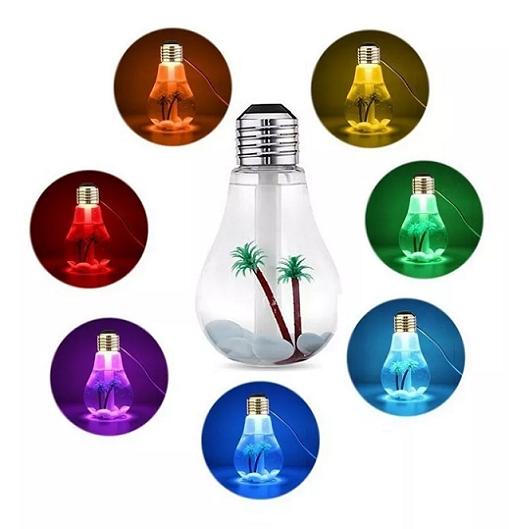 Mini Umidificador De Ar Aromatizador Lampada Luminária Usb - LA0601