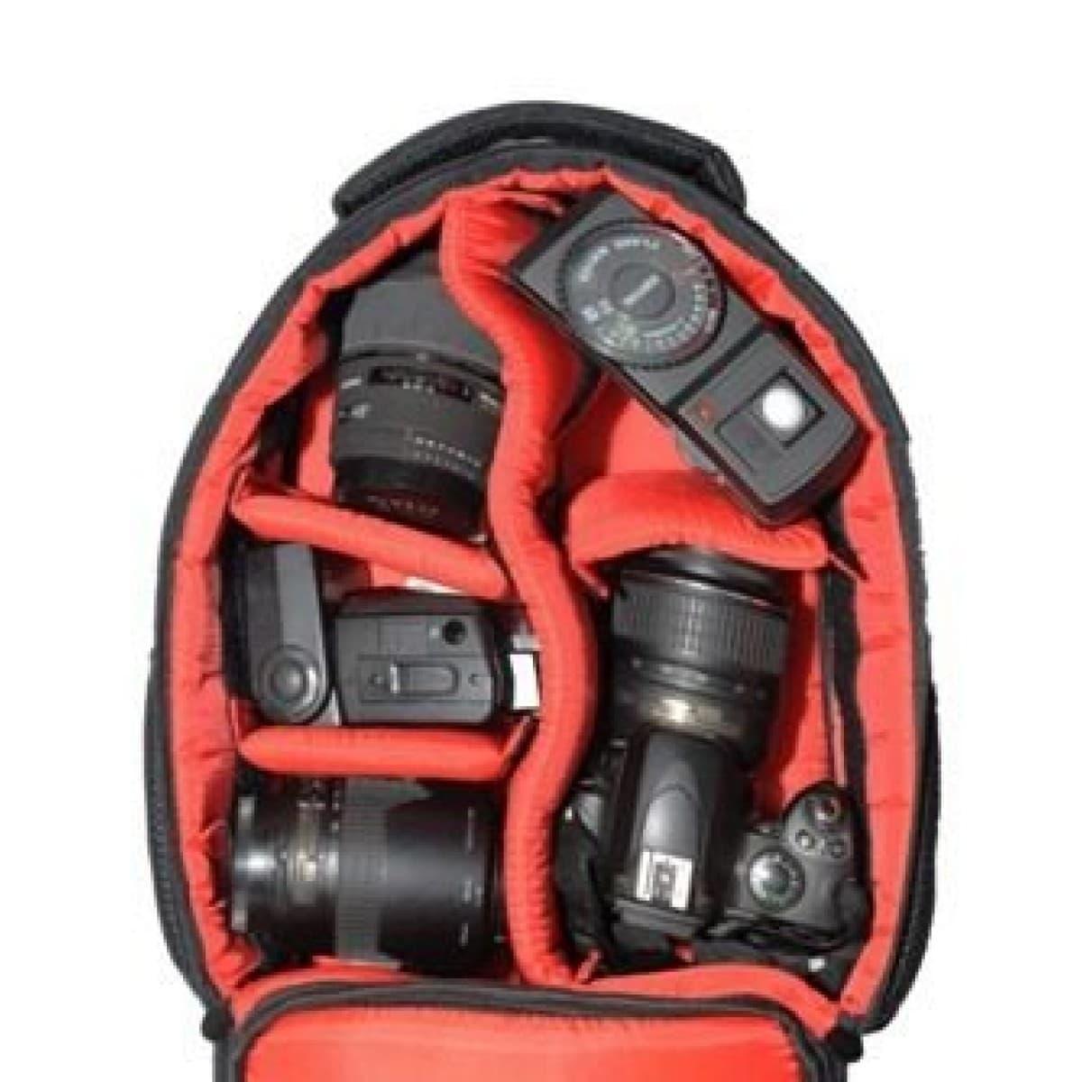 Mochila Para Câmera e Fotografia Acolchoada - JAMILY