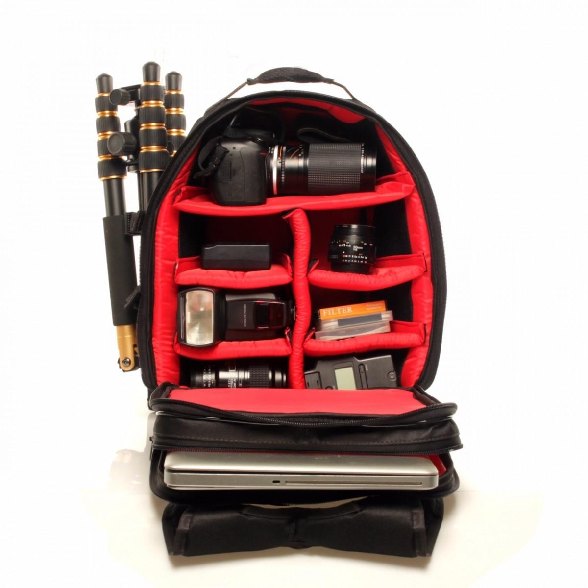 Mochila Para Fotografia Para Câmera Para Notebook e Acessórios - JUMBINHO