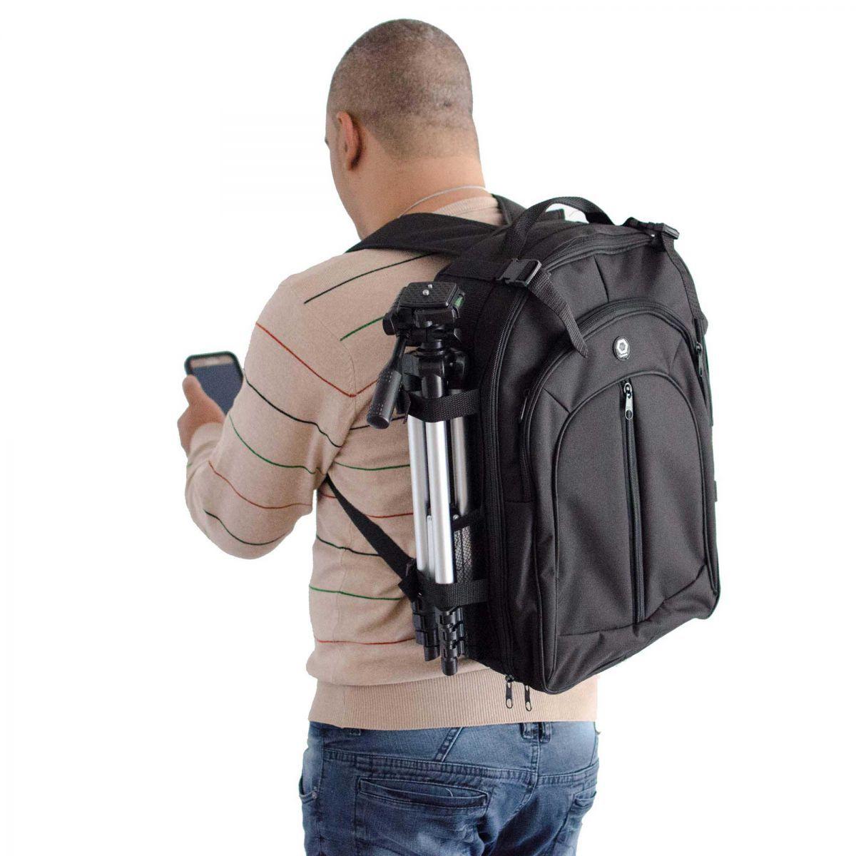Mochila Ded Cases Para Maquina Fotografica E Equipamentos Fotograficos - PhotoPro Cargo