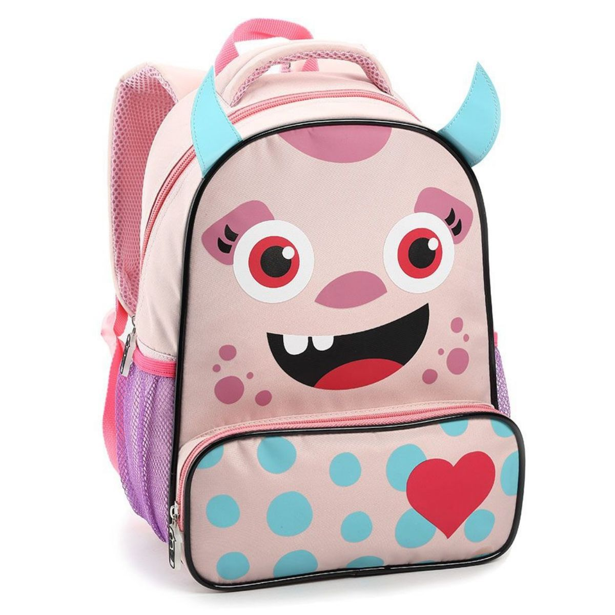 Mochila Escolar Infantil Monstrinhos Seanite - MI14482