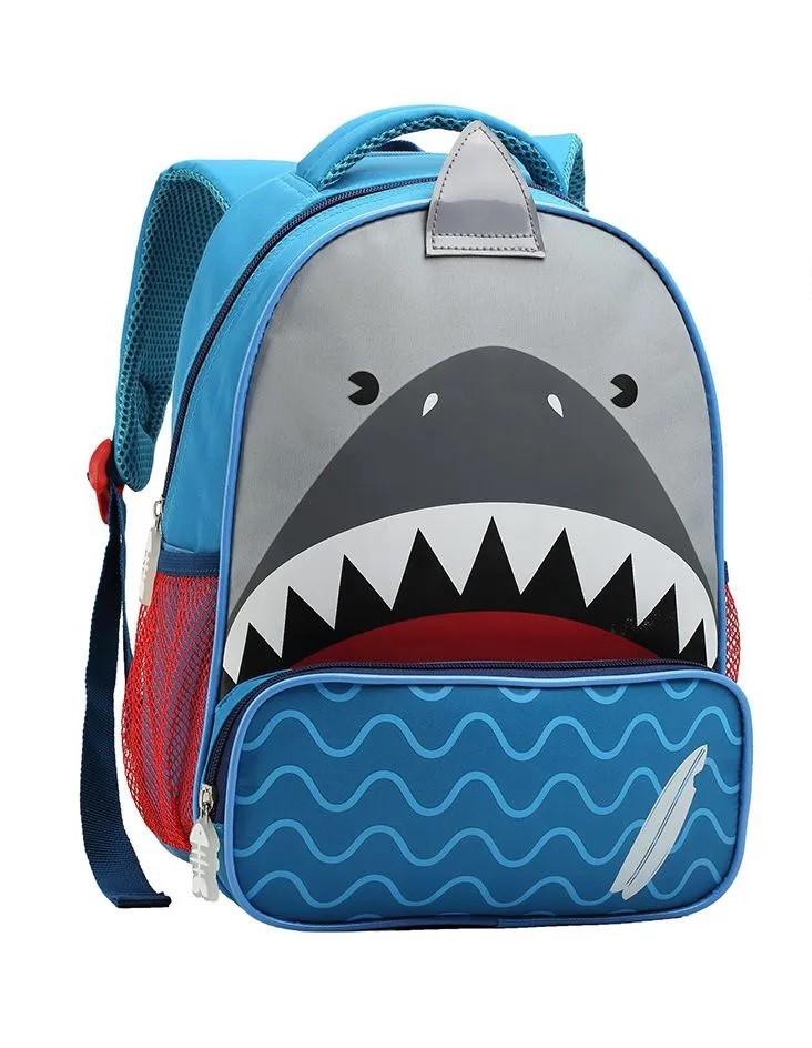 Mochila Escolar Infantil Tamanho P Pirata E Tubarão - MI13874