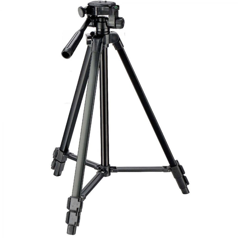 Kit Mochila Para Câmeras Fotográficas Jamily + Tripé Digipod Tr-450CS