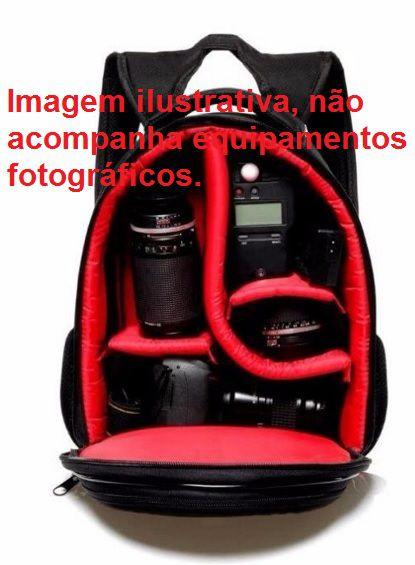 Mochila Para Câmeras Fotográficas Jamily + Tripé Weifeng  WT-3130