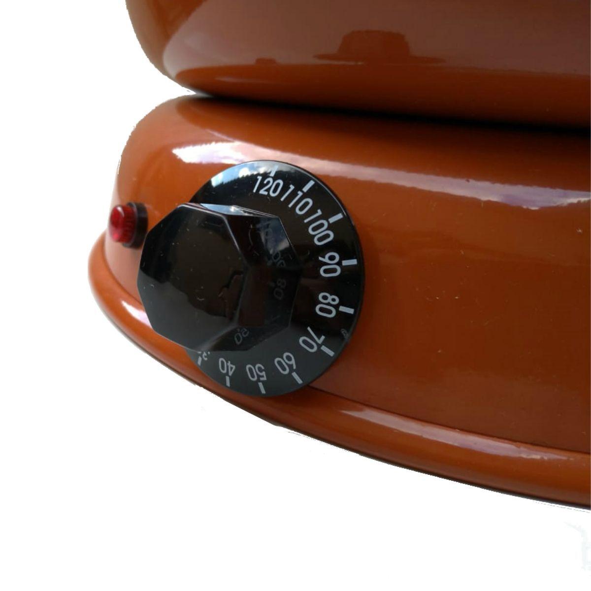 Panela Derretedeira De Chocolate Elétrica Para Até 7kg Chocolateira - DERRETEDEIRA COM VARIAÇÃO