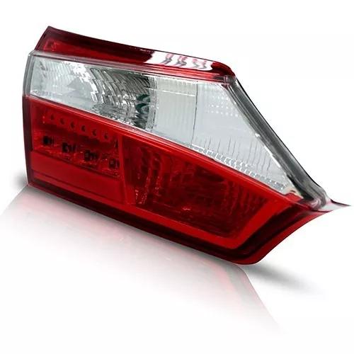Par De Lanterna Traseira Corolla 2015 A 2017 Porta Malas Led Original Stanley - DIREITO E ESQUERDO