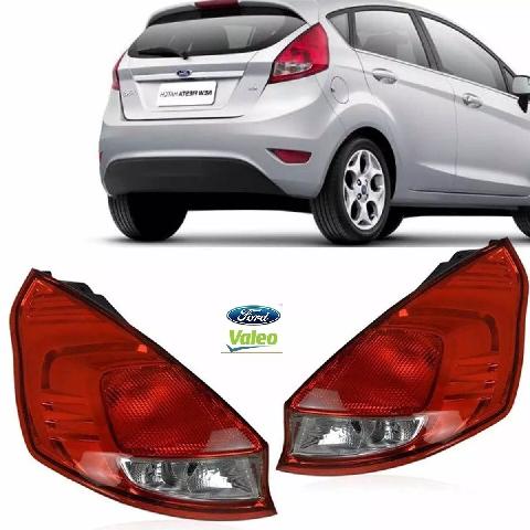 Par De Lanterna Traseira New Fiesta Hatch 2013 A 2016 Original Valeo - DIREITO E ESQUERDO