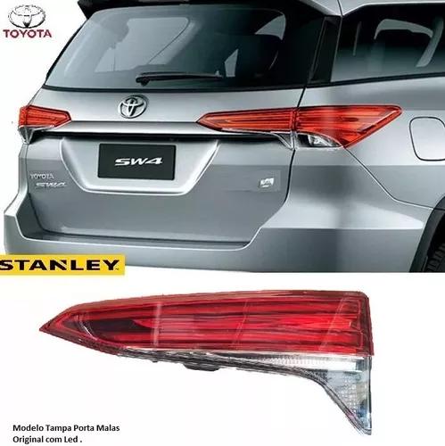 Par De Lanterna Traseira Toyota Sw4 Mala 2017 2018 Led Original Stanley - DIREITO E ESQUERDO