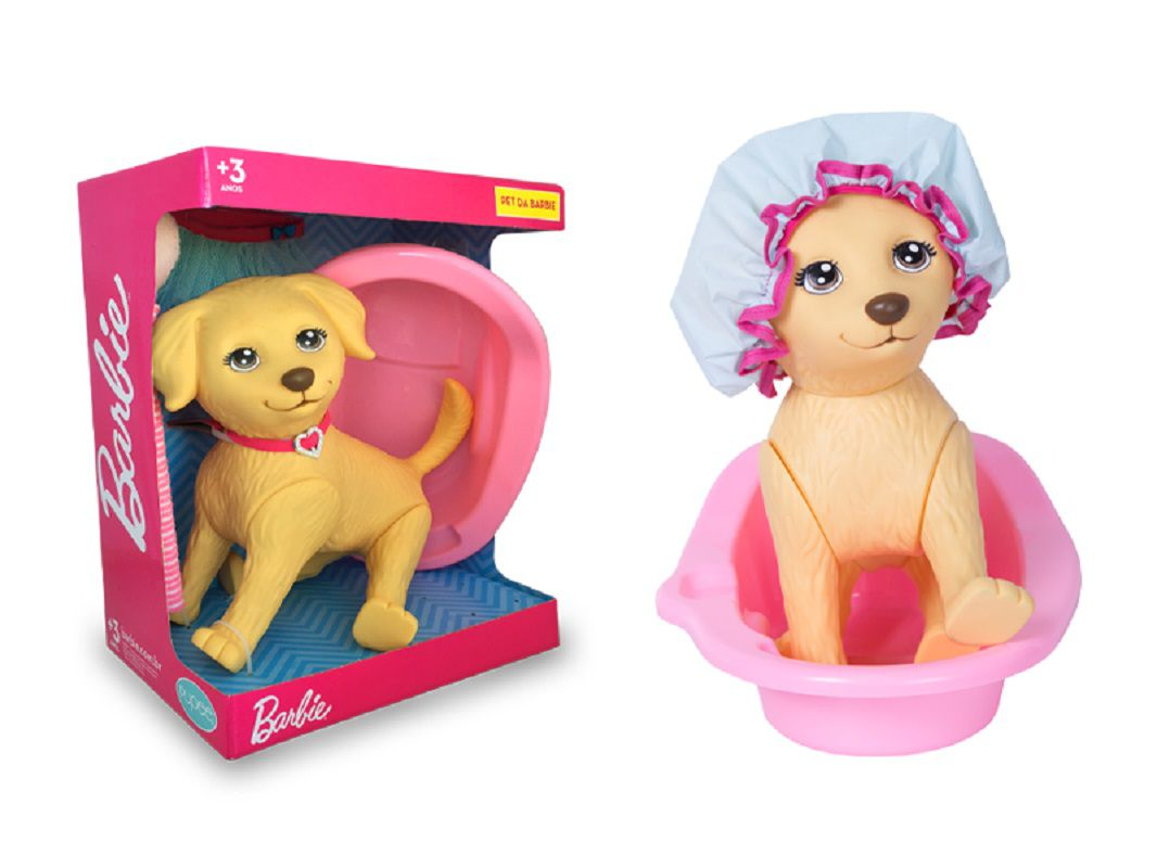 Pet Shop Honey Da Barbie Banho Cachorro - 1257