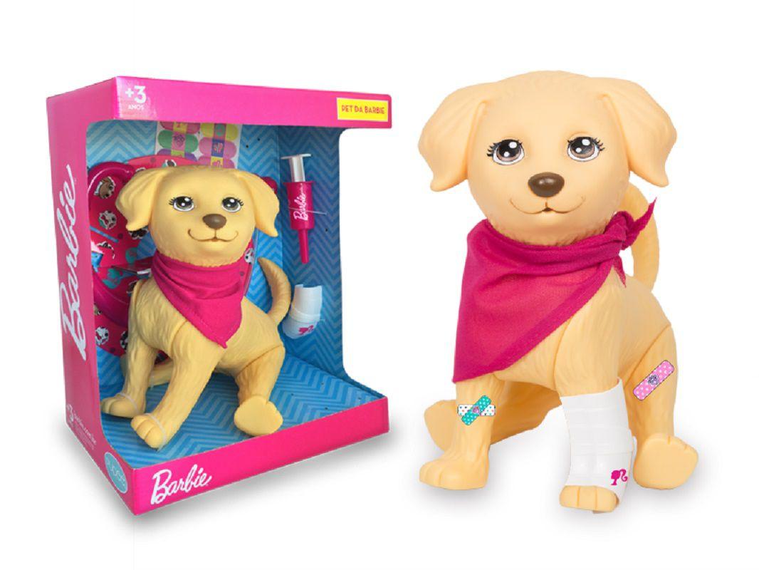 Pet Veterinário Da Barbie Cachorro Taff - 1250