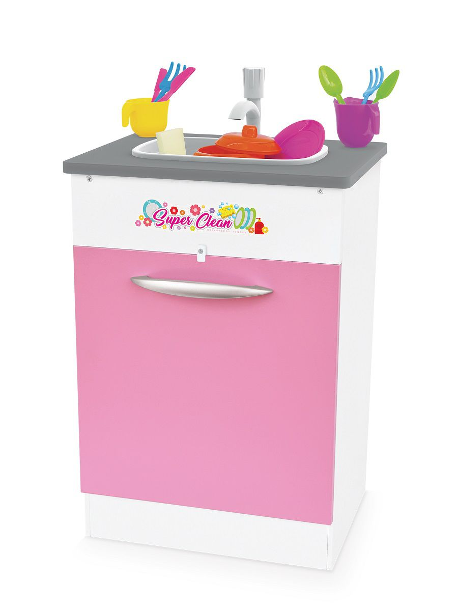 Pia De Brinquedo Infantil Super Clean Junges