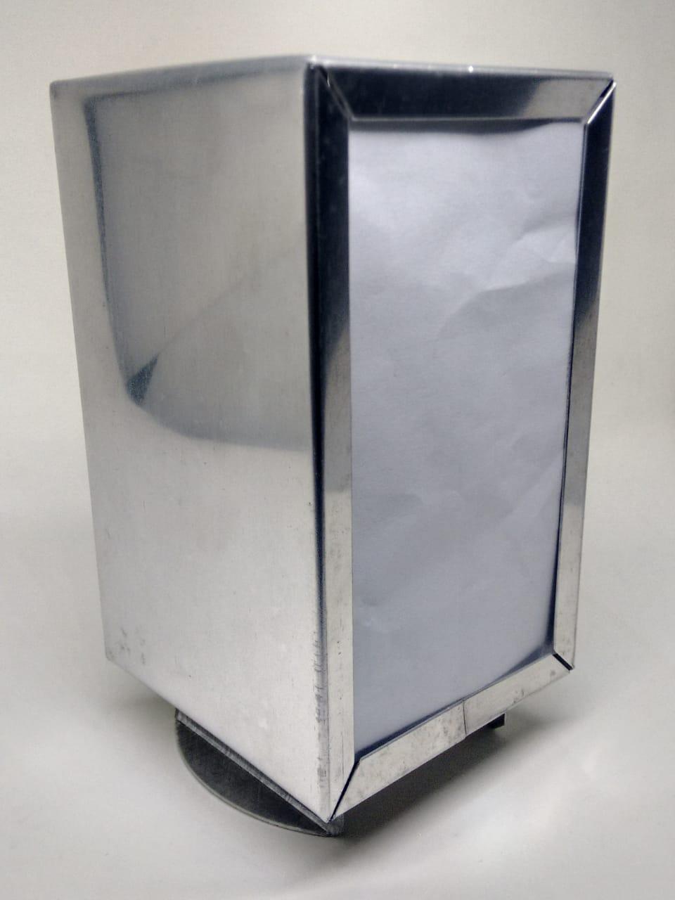 Porta Guardanapos Em Alumínio - 61