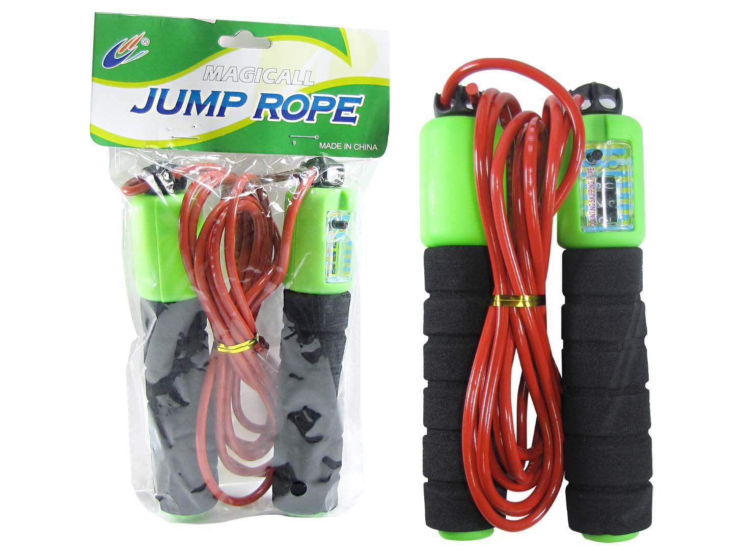 Pula Corda Infantil de Borracha Divertido Jump Rope - D14
