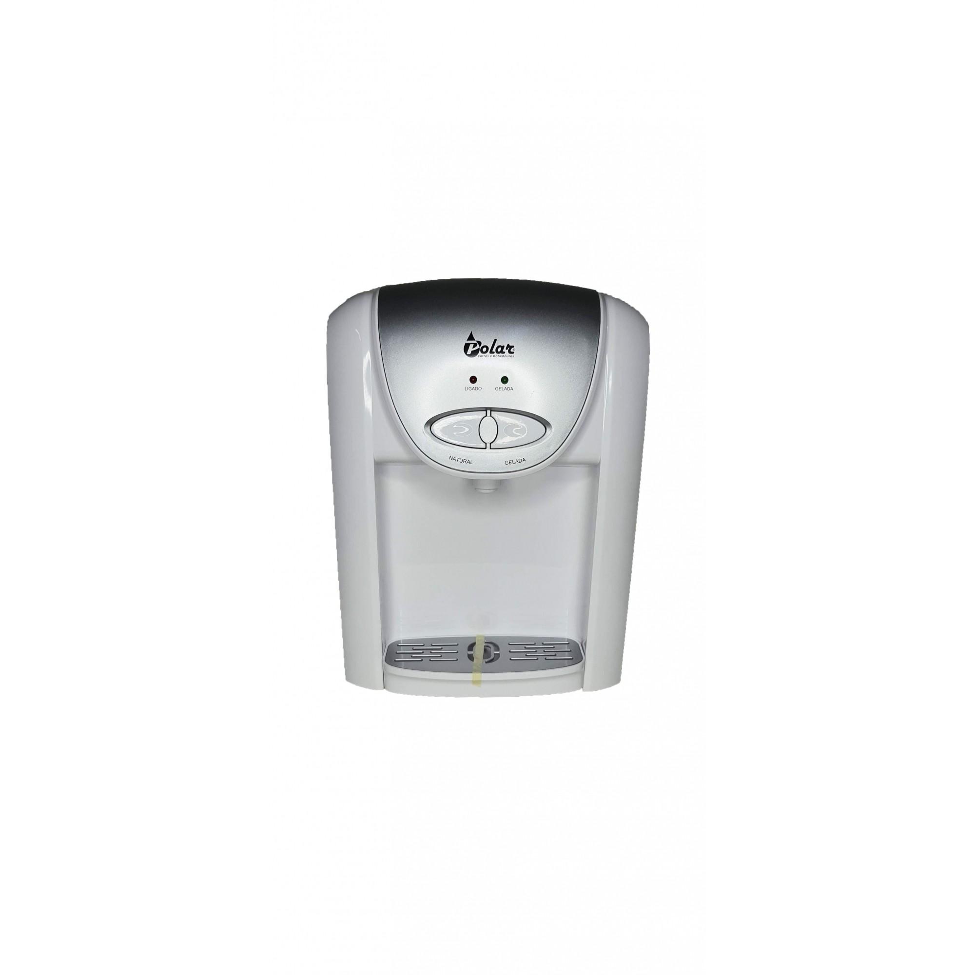 Purificador de Água Eletrônico Branco Natural e Gelada 110V - SV8000B
