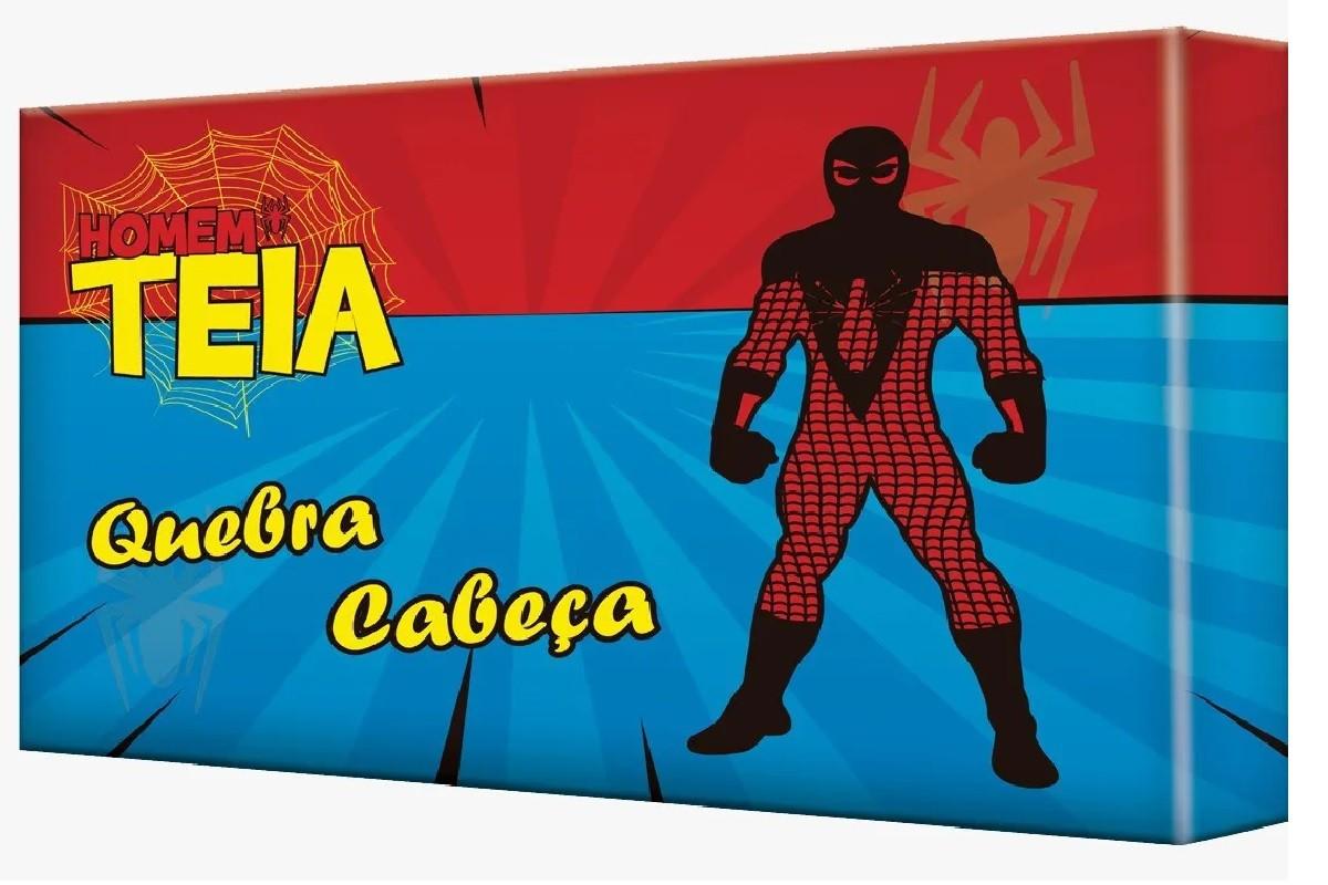 Quebra-Cabeça Homem Teia 60 Peças - 9380