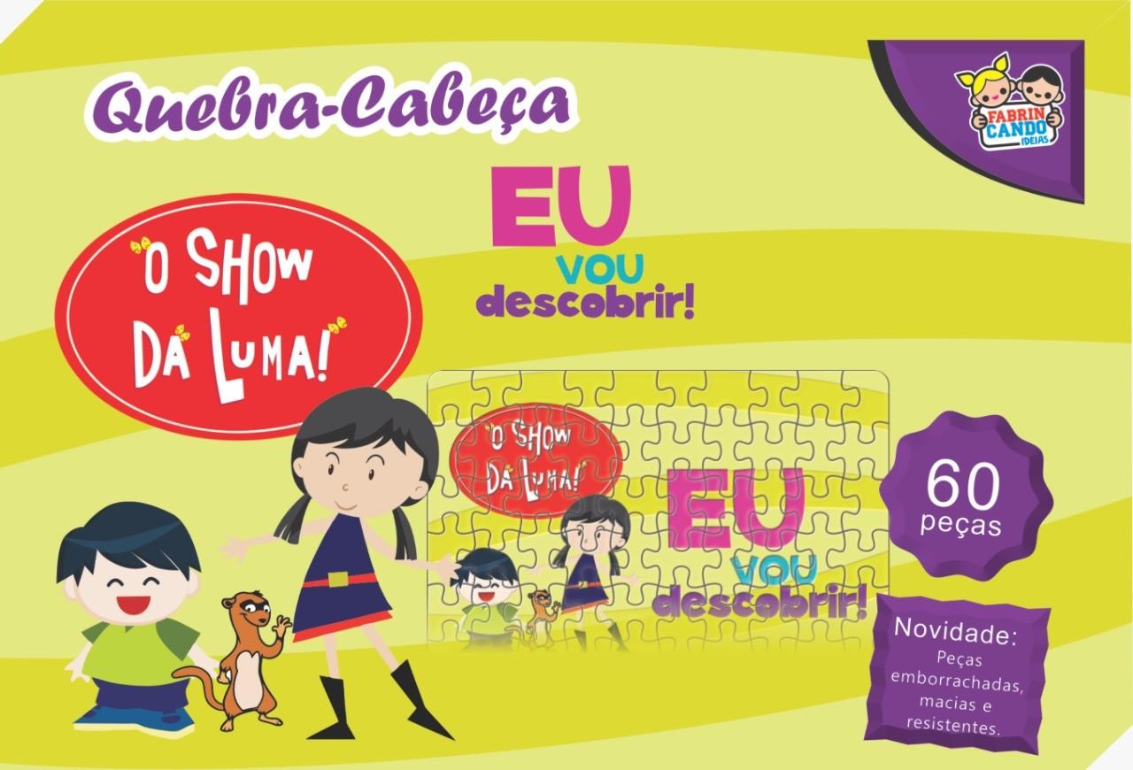 Quebra-Cabeça O Show Da Luma 60 Peças - 6943