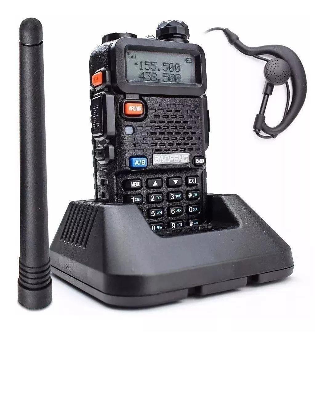 Rádio Comunicador Walk Talk Baofeng - BF5R