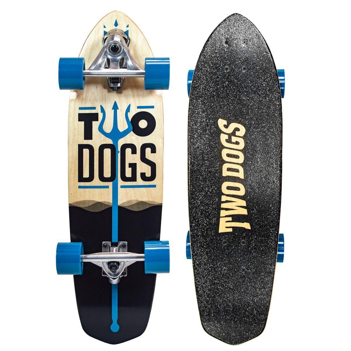 Skate Simulador De Surf Two Dogs - Neptuno - TD-SS103