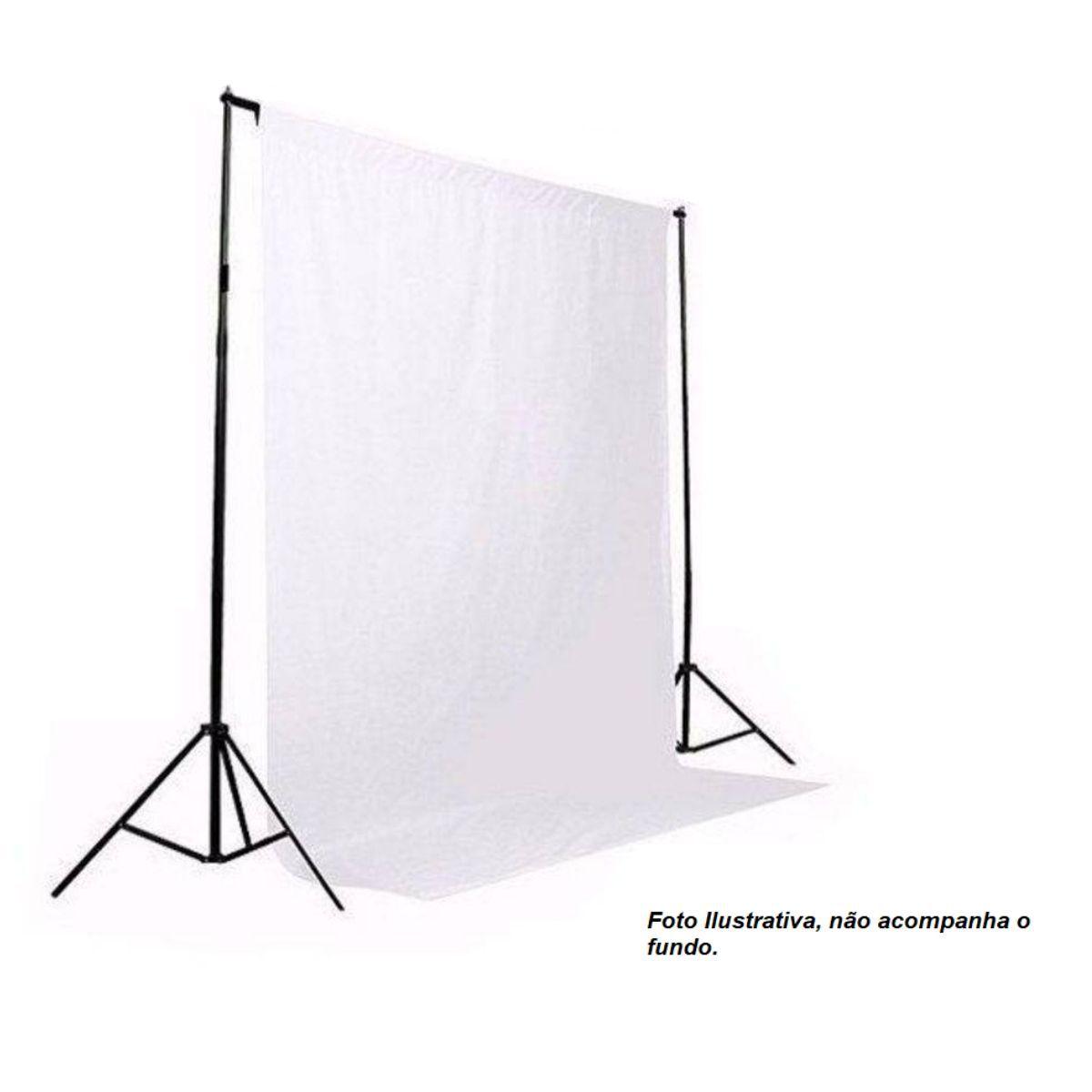 Suporte para Fundos de Estúdio Fotográfico Bj-14 com 2,9m Largura x 2,5m Altura e Bolsa de Transporte