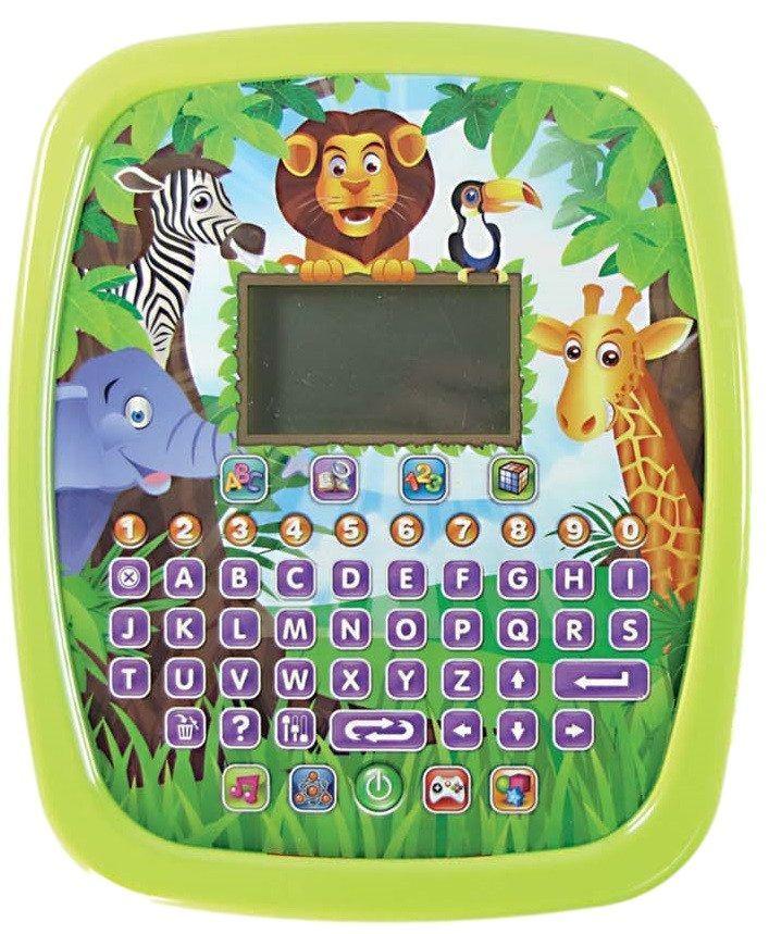 Tablet Inteligente Infantil  Brinquedo com 32 Atividades Com Luz e Som - 635 VERDE - FULLFILMENT VENDAS