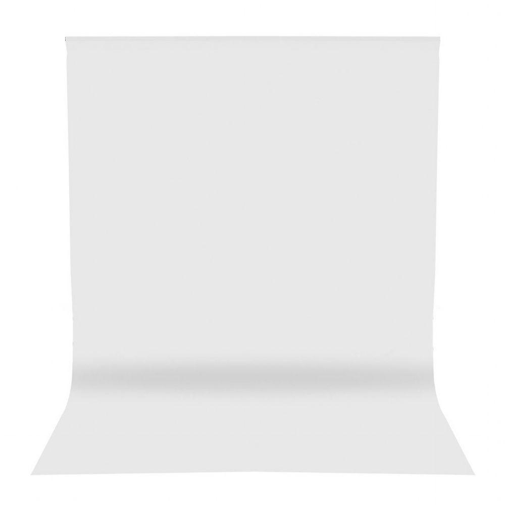 Tecido Chroma Key Branco Para Fundo Infinito Em Algodão Grosso 3x5 Metros