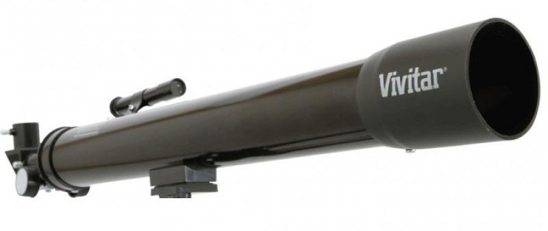 Telescópio De Refração 210x / 420x Com Estojo Para Transporte - VIVTEL50700