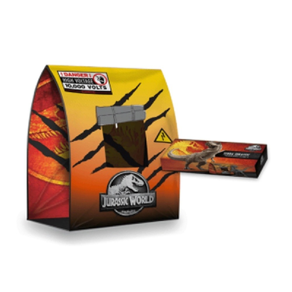 Tenda Jurassic World Core Com Janela - 7001