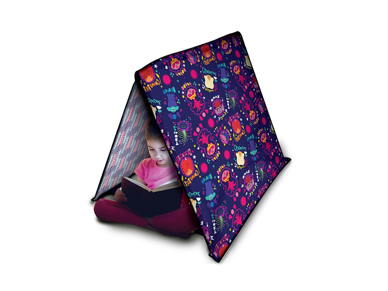 Tenda Trolls Para Brincar Com 2 Tapa Olhos - 7000