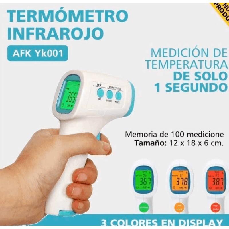 Termômetro Infravermelho Laser Portátil A Pilha - YK-001