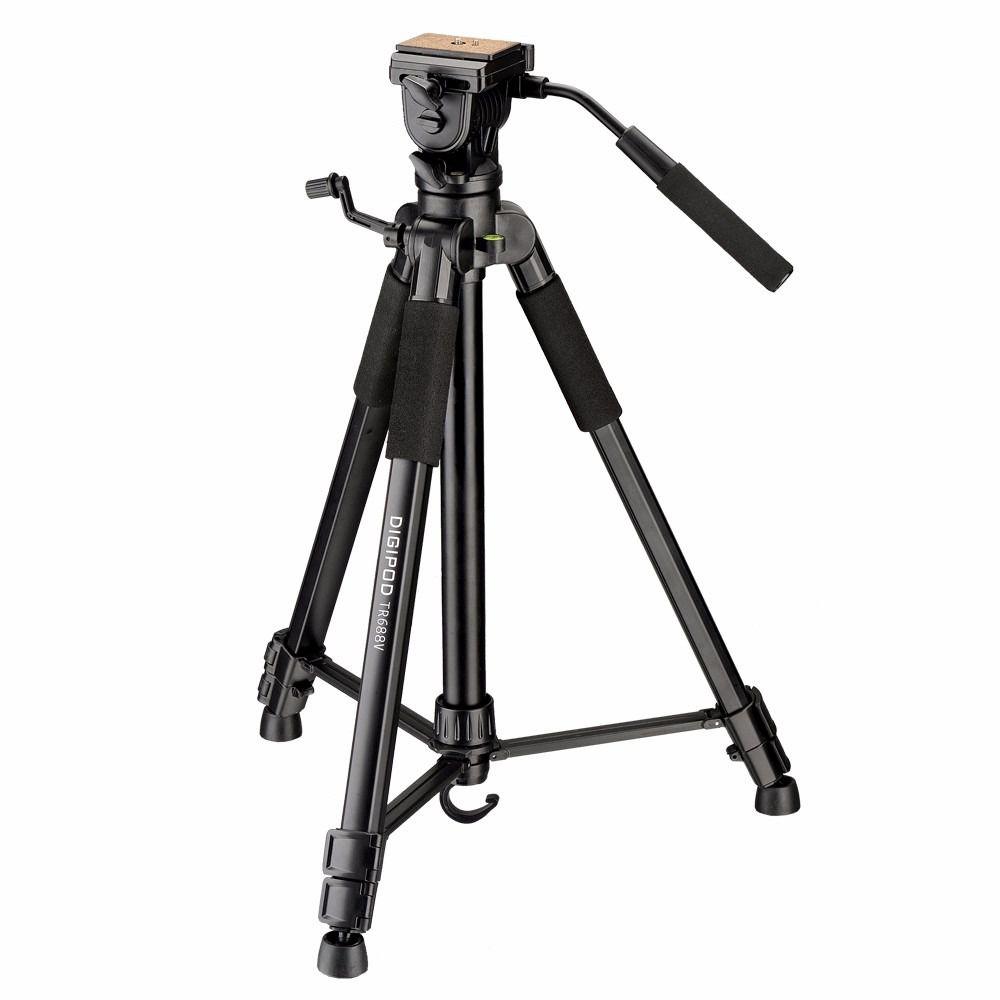 Tripé DIGIPOD Para Câmeras Fotograficas E Filmadoras 1,7 Metros - TR-688