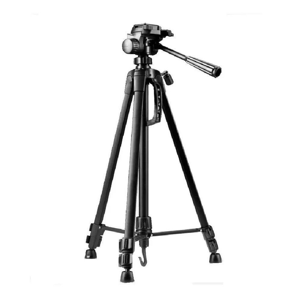 Tripé Fotográfico Profissional Universal Telescópico Com Suporte Celular 1,8 Metros - SL3600
