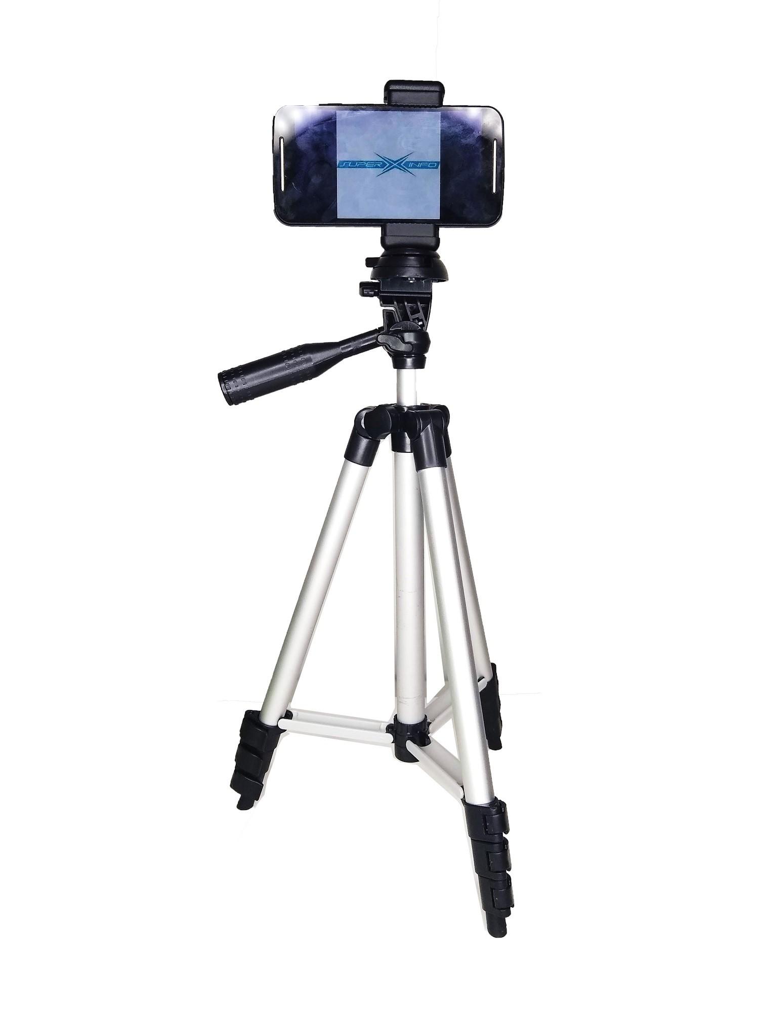 Tripé Para Câmeras Extensão Até 106cm + Suporte Adaptador Para Celular - KT-3111+12830