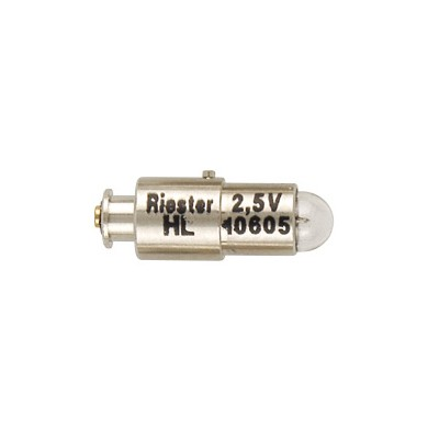 Cod.10605 - Lâmpada Oftalmoscópio Riester HL 10605 2,5V  - lampadas.net