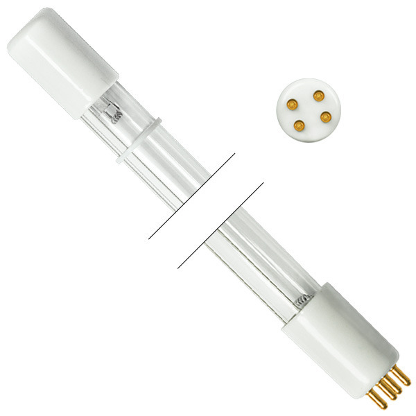 Cod.G010 - Lâmpada Germicida UV-C 16W 4P  - lampadas.net