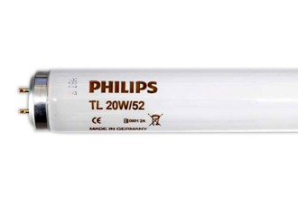 Cod.TL20/52 - Lâmpada Fototerapia TL20/52 PHILIPS  - lampadas.net