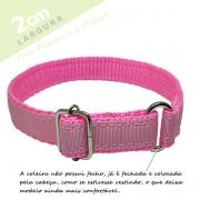 Coleira Identificação Personalizada Cachorro - Largura 2cm - PP /  P / M - Icones