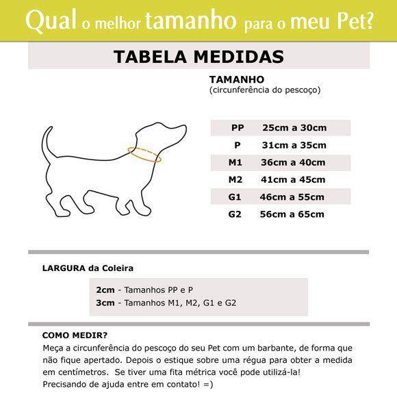 Coleira Identificação Cães - Coroas Brancas - Preto/Preto/Laranja  - PetPatuá | Coleiras e TAGs para Identificação