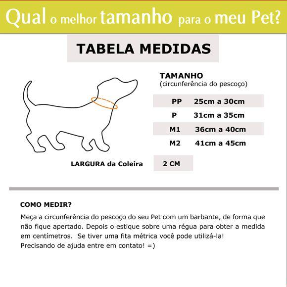 Coleira Identificação Refletiva para cão - 2cm - PP / P / M - Ícones - Customize  - PetPatuá | Coleiras e Tags para Identificação