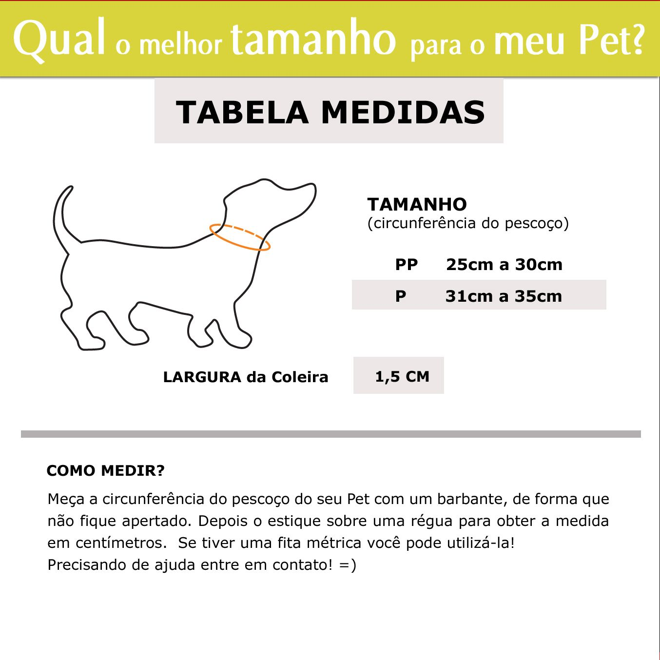 Coleira Identificação Personalizada Cachorro Pequeno - 1,5cm - XXP / PP / P - Customize!  - PetPatuá | Coleiras e Tags para Identificação