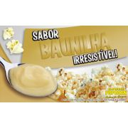 Caramelos para fazer Pipoca Doce sabor Baunilha - Pipoqueiras de Cinema - Pacote de 1kg