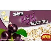 Sabores e Caramelos p/ Pipoca Doce - Açai - 1kg