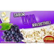 Caramelos e Sabores p/ Pipoca Doce - Uva - 1kg