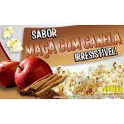 Caramelos e sabores p/ Pipoca Doce - Maçã c/ Canela - Pct 1kg