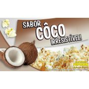 Caramelos e Sabores p/ Pipoca Doce - Coco - 1kg