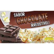 Caramelos para fazer Pipoca Doce sabor Chocolate - Pipoqueiras de Cinema - Pacote de 1kg